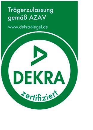 NEF DEKRA AZAV Zertifizierung