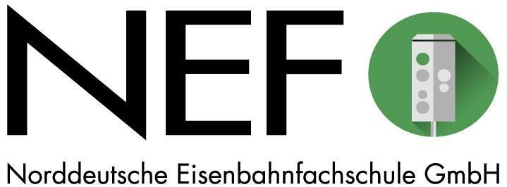 NEF Norddeutsche Eisenbahnfachschule Logo