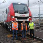 NEF begleitet Übergabe der ersten EuroDual Lokomotiven an Lappwaldbahn