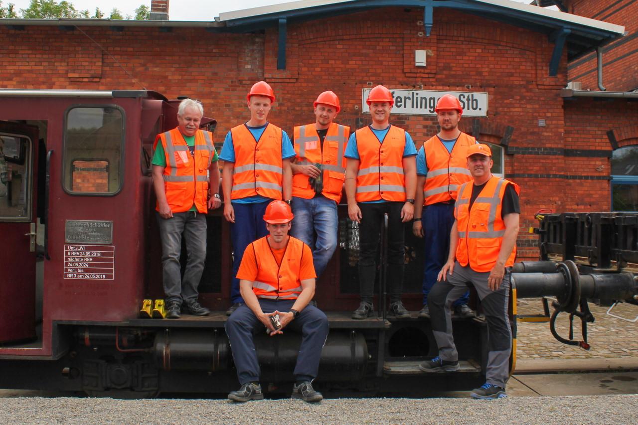 Norddeutsche Eisenbahnfachschule macht tschechische Lokführer fit für das deutsche Schienennetz