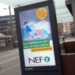 Infostand der Norddeutschen Eisenbahnfachschule in Braunschweig